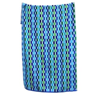 100-percent Cotton Yarn Dyed Oversized Mosaic Beach Towels