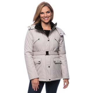 Jessica Simpson Women's Heavyweight Belted Puffer