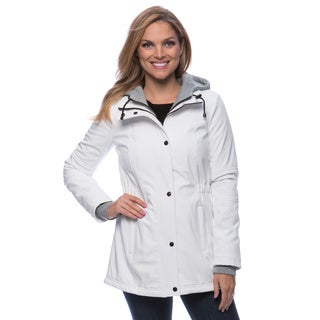 Jessica Simpson Women's Soft Shell Hoodie Coat