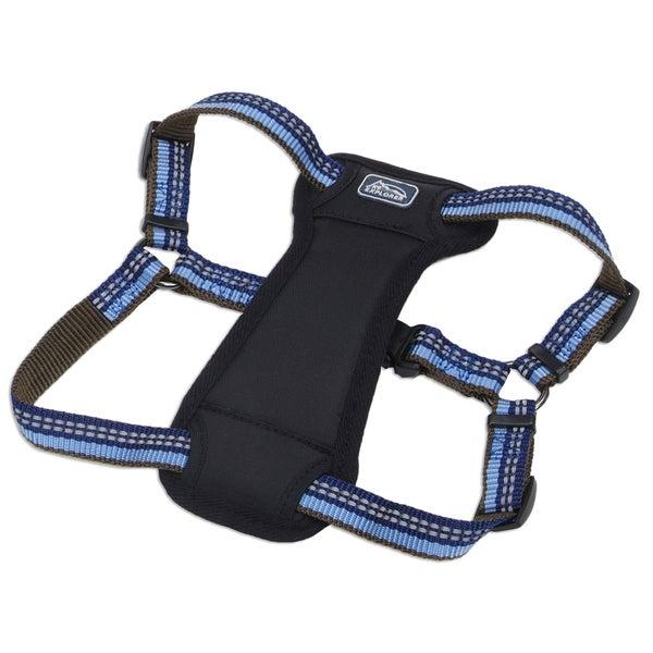 Coastal K9 Explorer Blue Reflective Adjustable Harness