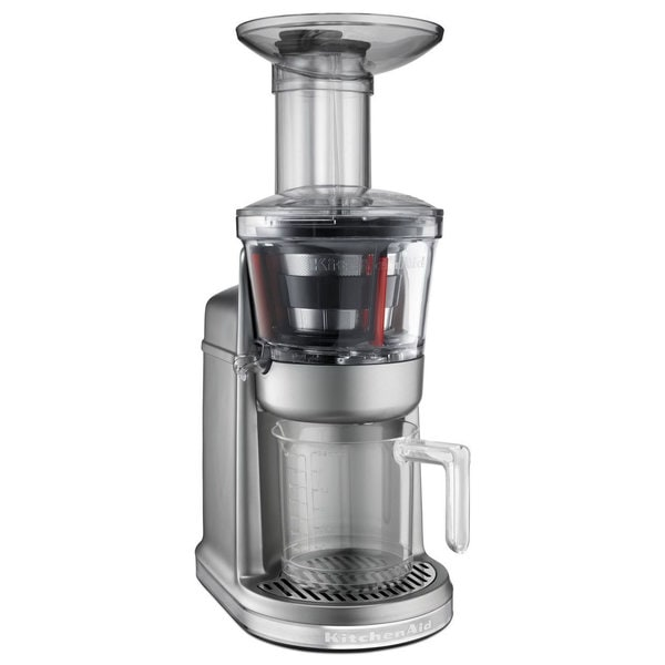 Kitchenaid kvj0111cu contour silver maximum extraction for Alpine cuisine juicer