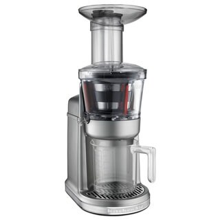 KitchenAid KVJ0111CU Contour Silver Maximum Extraction Juicer