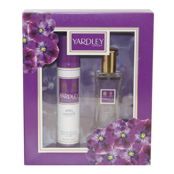 Yardley of London April Violets Women's 2-piece Gift Set