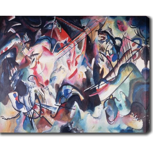 Gustav Mahler 'Symphony No. 5' Oil on Canvas Art
