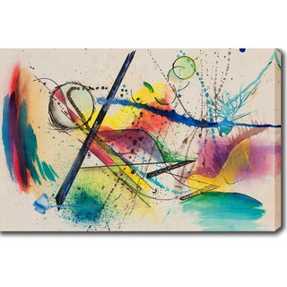 Wassily Kandinsky 'Abstract' Oil on Canvas Art