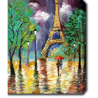 'Eiffel Tower, Paris' Oil on Canvas Art