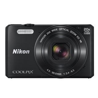Nikon S7000 16MP Black Digital Camera