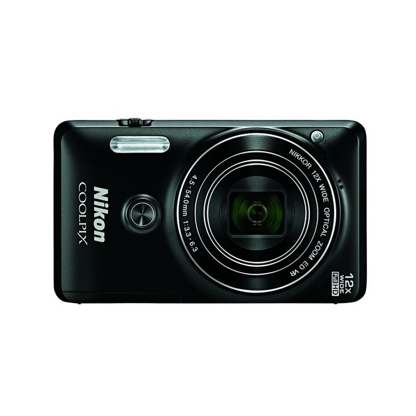 Nikon S6900 16MP Black Digital Camera