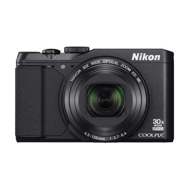 Nikon S9900 16MP Black Digital Camera