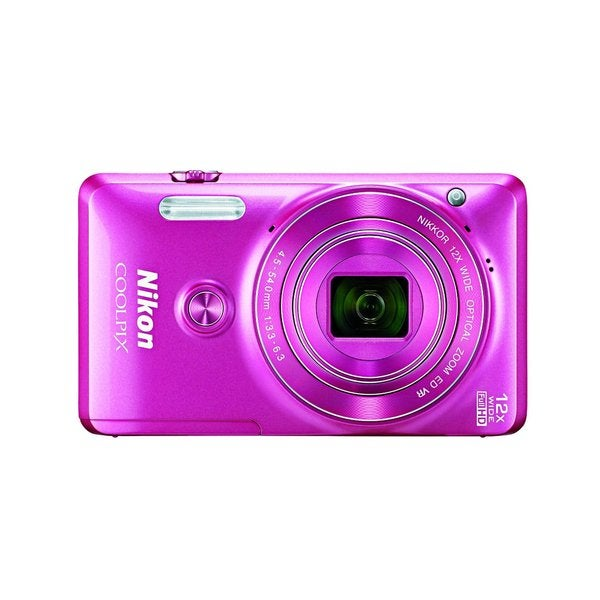 Nikon S6900 16MP Pink Digital Camera