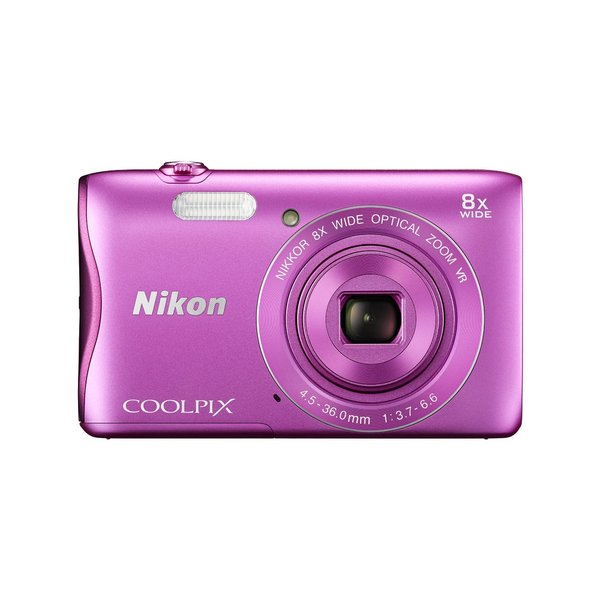 Nikon S3700 20.1MP Pink Digital Camera
