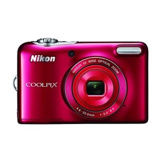 Nikon L32 20.1MP Red Digital Camera