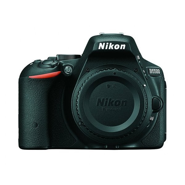 Nikon D5500 24.2MP Black Digital SLR Camera (Body Only)