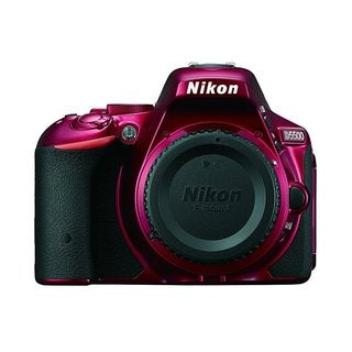 Nikon D5500 24.2MP Red Digital SLR Camera (Body Only)
