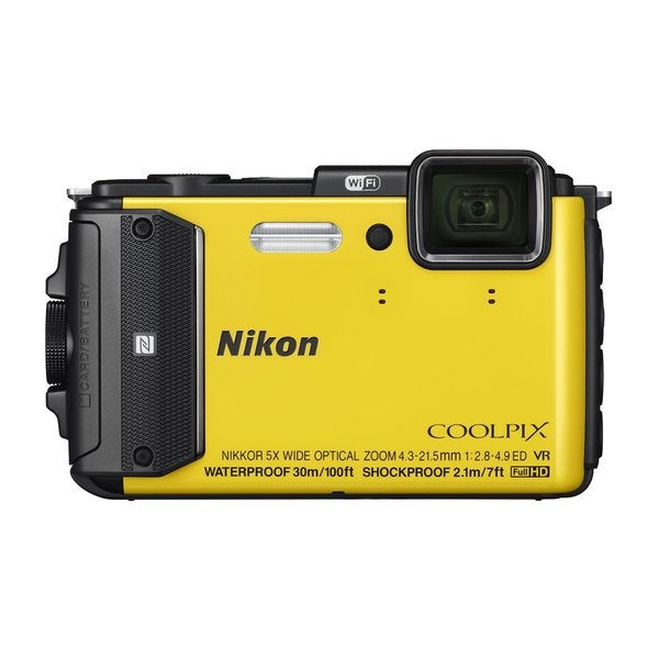 Nikon AW130 16MP Yellow Digital Camera