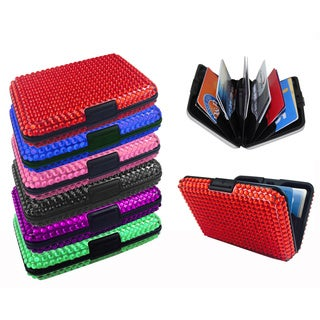 As Seen On TV Jeweled Aluminum Wallet
