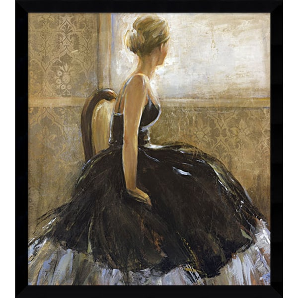 Marilyn Bridges 'Girl in Dress' Framed Art Print 34 x 37-inch