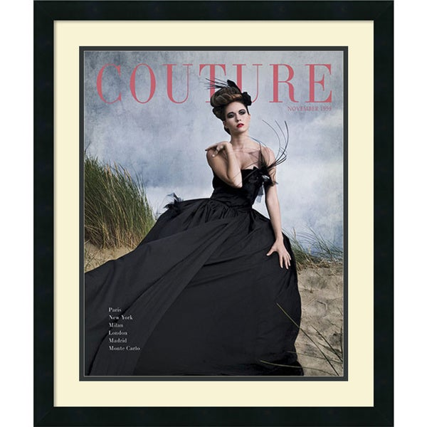 HC Archives 'Couture November 1959' Framed Art Print 22 x 26-inch