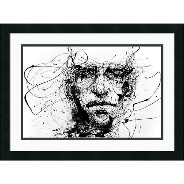 Agnes Cecile 'Lines Hold the Memories' Framed Art Print 24 x 18-inch