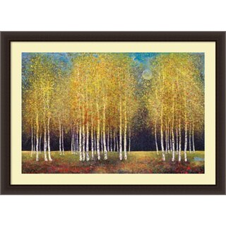 Melissa Graves-Brown 'Golden Grove' Framed Art Print 44 x 32-inch