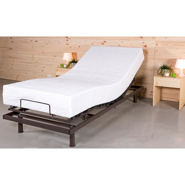 T-Motion Adjustable Dual Firmness Reversible 10-inch Twin XL-size Foam Mattress