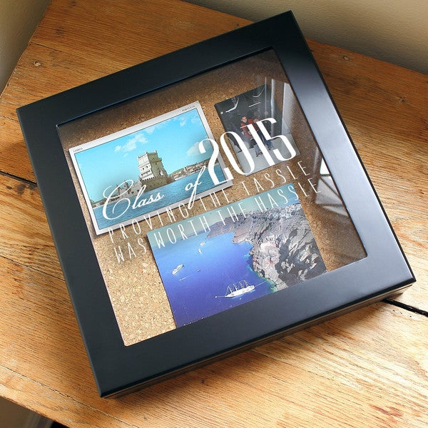 Hassle for the Tassel Graduation Keepsake Shadow Box
