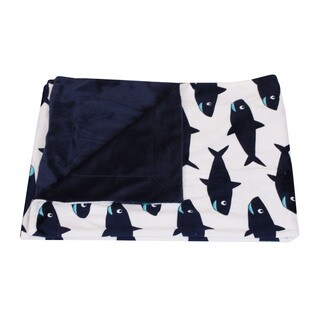 Thro by Marlo Lorenz Sammy Shark Baby Throw