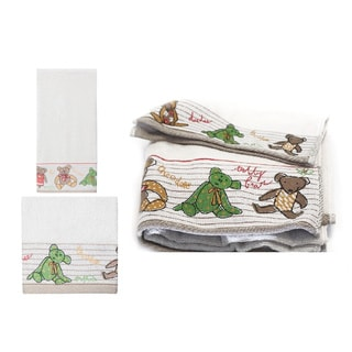 Creative Bath 6-piece Little Friends Towel Set