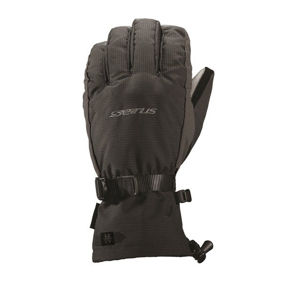 Seirus HWS Heatwave Accel Glove, Black/Charcoal