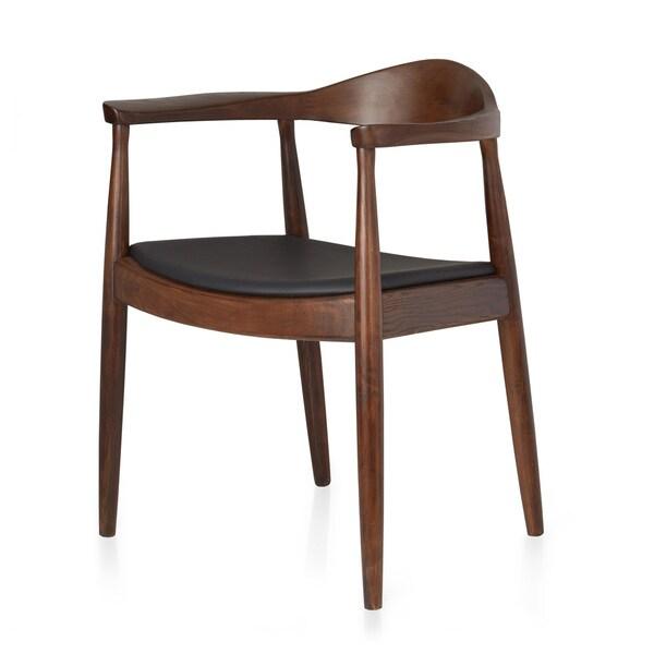 Dark Brown/ Black Dining Chair