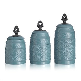 Anila 3-piece Canister Set
