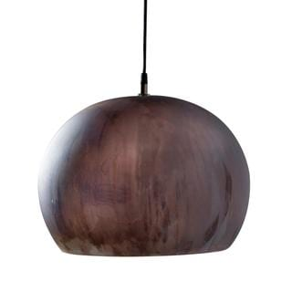 Aura Small Charcoal 1-light Hanging Pendant (India)
