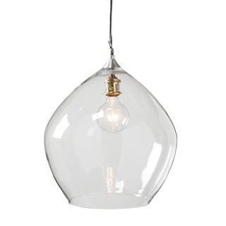 Leeds Clear 1-light Hanging Pendant (India)