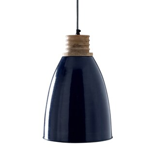 Greg Royal Blue 1-light Hanging Pendant (India)