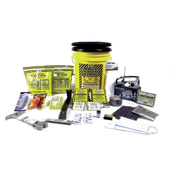 2 Person Deluxe Emergency Honey Bucket Kits