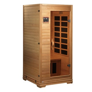 GDI Studio 1 to 2 Person Far Infrared Carbon Natural Wood Sauna / GDI-6109-01
