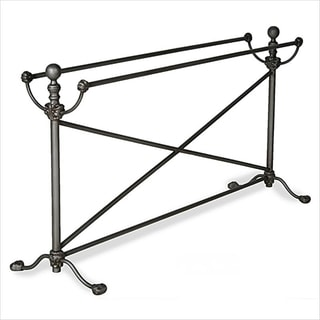 Corsican Hand-forged Iron Bedspread Holder