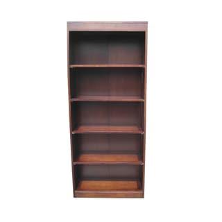 D-Art Bellevue Mahogany Wood Tall Bookcase (Indonesia)