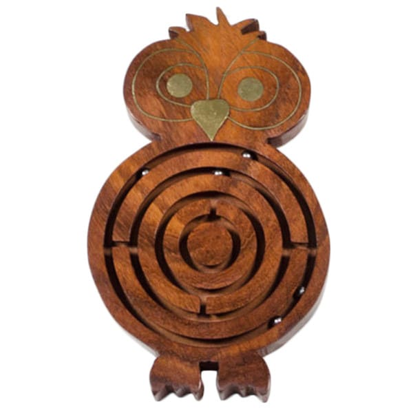 Wooden Night Owl Labyrinth (India)