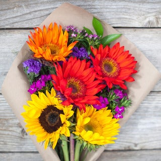 The Bouqs California Collection Be True Single Sunflower Bouquet