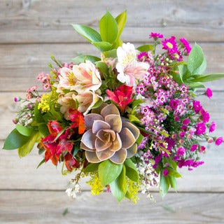 The Bouqs California Collection Fearless Single Mixed Bouquet