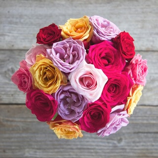 The Bouqs California Collection Twirl Original Rose Bouquet