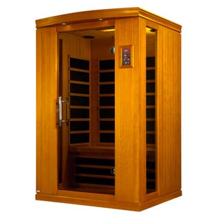 Dynamic 2-Person Far Infrared Hemlock Wood Venice II Sauna / DYN-6210-01