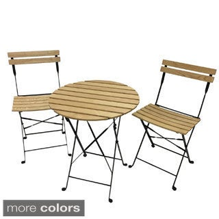 PHAT TOMMY Aviara Folding Bistro Set