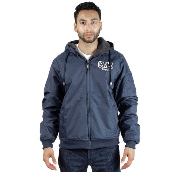 Rock Revolution Men's Reversible Zip-Up Hooded Jacket