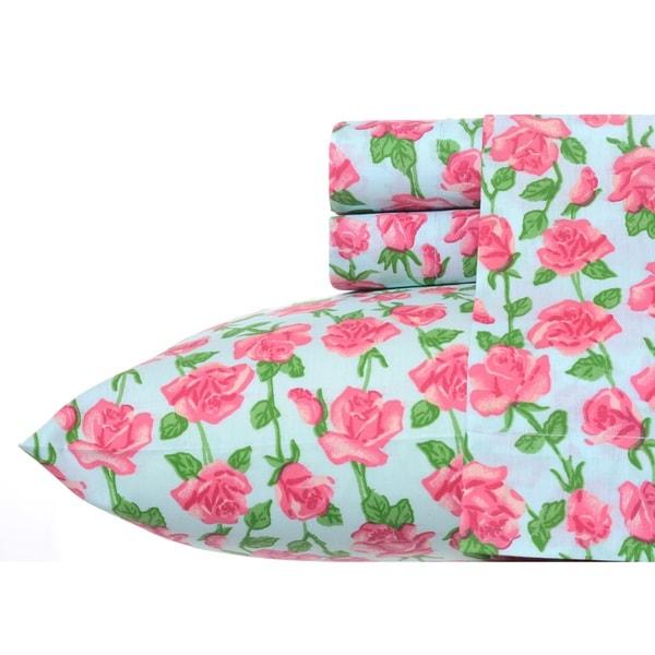 Betsey Johnson Floral Vine Sheet set