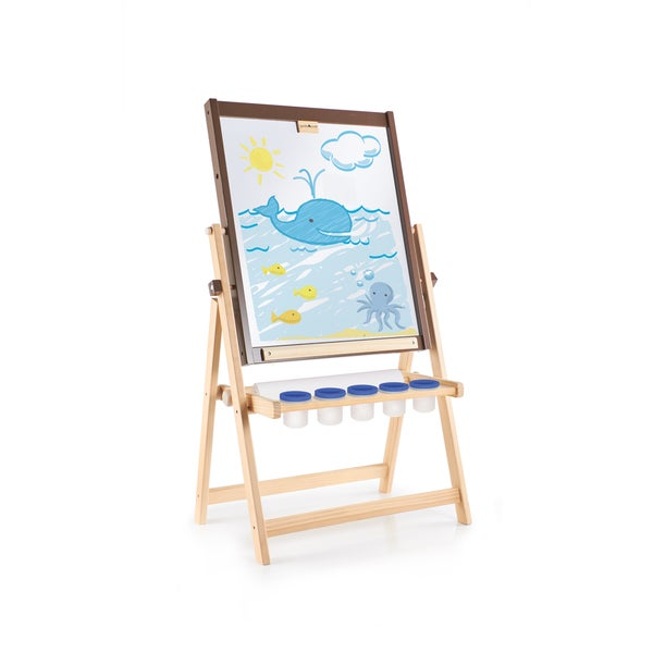 Guidecraft 4-in-1 Flipping Floor Easel 15263764