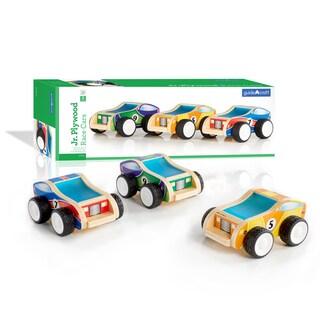 Guidecraft Junior Plywood Race Cars