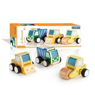 Guidecraft Junior Plywood Construction Trucks