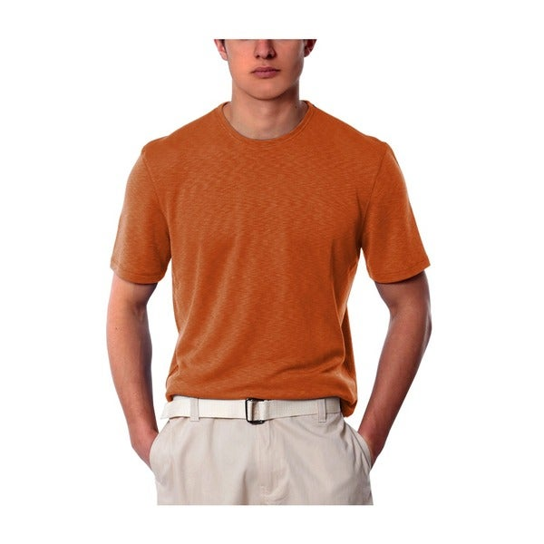 Men's Salmon Crew Neck Shirt